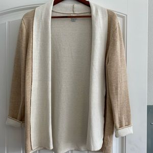Cream A New Day brand cardigan size L